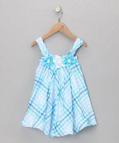 Blue Alyssa Dress by Blue Pearl  (on Zulily)