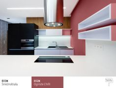 Czerwona kuchnia -Trendy 2014