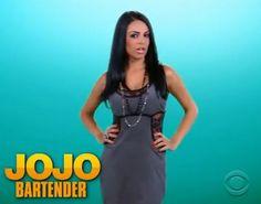 Big Brother 14 houseguest Jojo (Bartender)