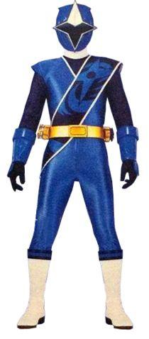 Preston Tien as the Blue Ninja Steel Ranger