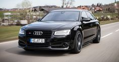 ABT Turns The Audi S8 Plus Into A 705PS Cruise Missile #ABT #Audi