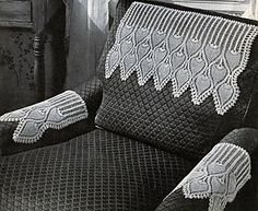 Ravelry: Pineapple Chair Set #7871 pattern by The Spool Cotton Company