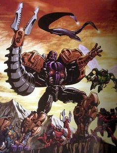 Transformers Beast Wars Transmetal Megatron.