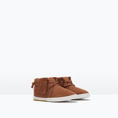 75fbd56c30c0 Image 2 of MID-CUT LEATHER BOOTS from Zara Zara Kids