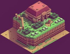 it8bit: Zelda 3D Isometric Design Created by Sir Carma
