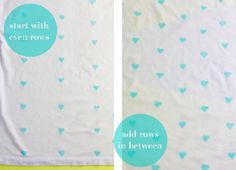 ~Ruffles And Stuff~: Hearts on Our Sleeves: Heart Stamped DIY