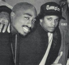 Tupac Shakur and Eazy-E