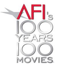 AFI's 100 YEARS...100 MOVIES....This is the American Film Institute's list of the 100  Greatest Movies, selected by AFI's blue-ribbon  panel of more than 1,500 leaders of the American  movie community.