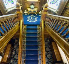 Proiect Casa Carol Braila, realizat de Carpet&More. Blue Carpet, Stairs, Pets, Home Decor, Stairway, Decoration Home, Room Decor, Staircases, Home Interior Design