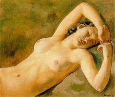 Sunyer, Joaquim (Spanish, 1874-1956) - Desnudo - 1930