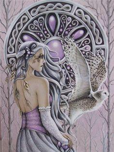 Jessica Galbreth 1 - Vintage Fantasy Art by Jessica Galbreth  <3 !