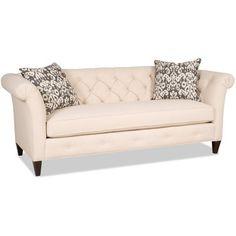 Sam Moore Astrid Sofa Finish: Java, Upholstery: 2681 Slate