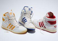 3 Colorways of the adidas Originals Pro Conference Hi - EU Kicks: Sneaker Magazine Sneakers Mode, Sneakers Fashion, Shoes Sneakers, Adidas Superstar, Hypebeast, Adidas Originals, Adidas Tumblr Wallpaper, Adidas Retro, Adidas Vintage
