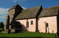 St Mary's Norman Church Kempley,Outside