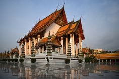 Wat Suthat and The Giant Swing, Bangkok, Thailand