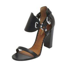 Mulberry - Equestrian Sandal in Black Vachetta $850