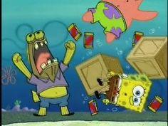 Spongebob: Chocolate with nuts