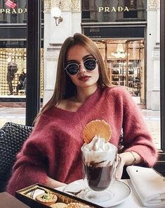 Cozy oversized off the shoulder sweater.