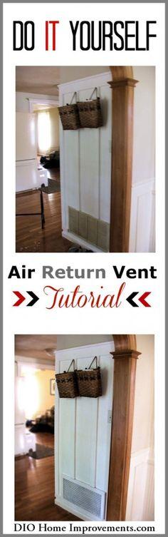 DIY Air Return Tutorial