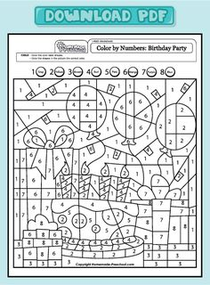 Image from http://www.homemade-preschool.com/image-files/worksheet-math-color-cake-1-8-pdf.png.