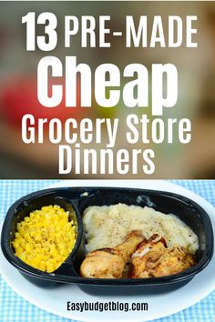 Keeping these in stock so you don't have to swing by the drive-thru will save you hundreds of dollars over time. #easybudgetblog #premademeals #premadedinners #premadedinnersfortheweek #premadedinnerideas #premadedinnersfreezercooking #premadedinnerrecipes #dinnerideas #dinnerideaseasy #dinnerideasfamily Easy Cheap Dinner Recipes, Inexpensive Meals, Low Carb Dinner Recipes, Dinner Recipes For Kids, Cheap Meals, Budget Freezer Meals, Freezer Cooking, Frugal Meals, Budget Recipes