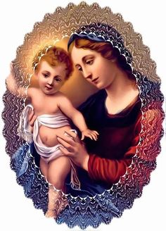 :Blessed Mother and Baby Jesus