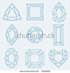 stock-photo-gemstone-illustration-on-graph-paper-76309852.jpg (450×470)