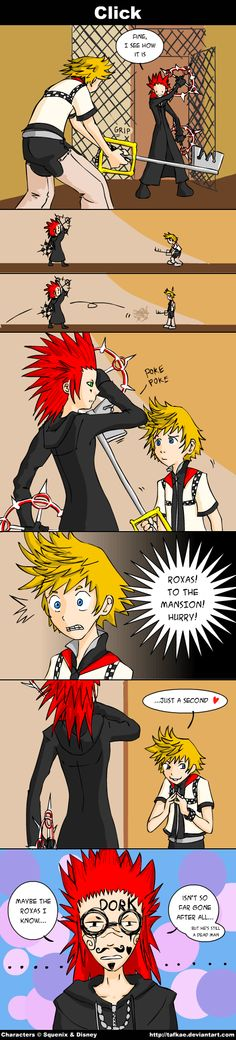 KH - Click by tafkae.deviantart.com on @deviantART  .....well that's what I would have done.