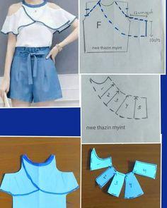 Elegant Photo of Custom Sewing Patterns Coat Patterns, Dress Sewing Patterns, Clothing Patterns, Skirt Patterns, Blouse Patterns, Fashion Sewing, Diy Fashion, Ideias Fashion, Moda Fashion