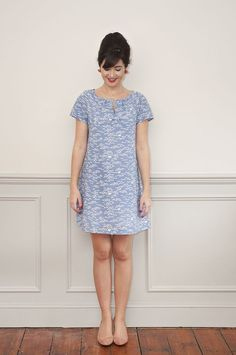 Sew Over It Lulu Dress sewing pattern : easy to wear A-line summer dress
