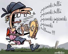 Japiverdi tullú!!! Humor Grafico, I Laughed, Disney Characters, Fictional Characters, Comics, Sayings, Memes, Art, Terra