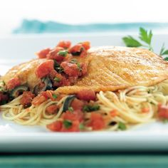 Tuscan-Style Tilapia - The Pampered Chef®