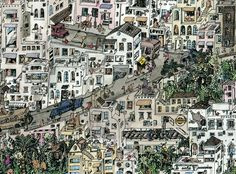 London Favela - Guillaume Cornet - Illustration