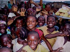 Mission work in Africa. Sweet faces like these are priceless.