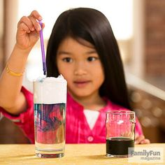 Make it Rain: Kids can create their own stormy weather -- and play with shaving cream -- doing this simple science experiment.
