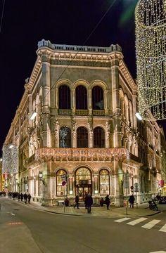Palais Ferstel Vienna, by redstone.hill
