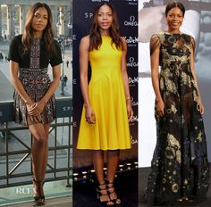 Naomie Harris In Valentino & Michael Kors - 'Spectre' Berlin Photocall, Premiere & OMEGA Exhibition Opening