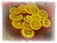 Fette di arancia decorative essiccate - YouTube