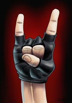 metal music caracitures | Cartoon: Heavy Metal (medium) by Mikl tagged mikl,michael,olivier ...