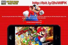 Super Mario Run UNLIMITED COINS Hacked