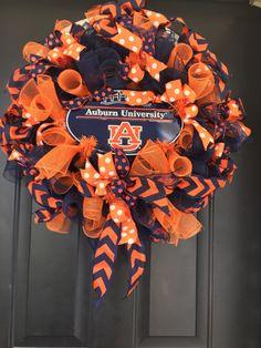 College Wreath, Auburn University, Collegiate Wreath,