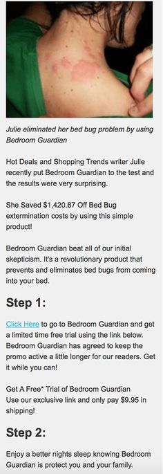 Bedroom Guardian Reviews ~ Is This Product EFFECTIVE At Getting Rid Of Bed  Bugs For Good?
