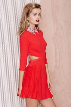 Three Floor Sugar Candy Jewel Collar Dress | Shop What's New at Nasty Gal