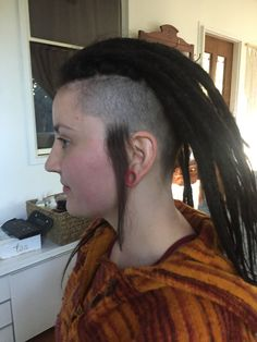 Adding sideburns to a dreadhawk makes for a unique look