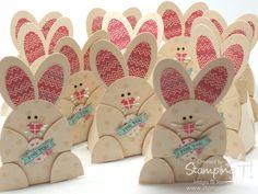 Stampin Up! Stamping T! - Oval Framelit Easter Bunnies