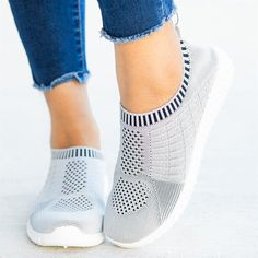 Flat Round Toe Casual Travel Sneakers Fashion girls, party dresses long dress for short Women, casual summer outfit ideas, party dresses Fashion Trends, Latest Fashion # Slip On Sneakers, Casual Sneakers, Slip On Shoes, Sneakers Fashion, Casual Shoes, Fashion Shoes, Sneakers Adidas, Sneakers Women, Comfortable Sneakers