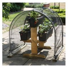 Freestanding Hoop & Cover Kit You are in the right place about Garden Planters decking Here we offer you the most beautiful pictures about the Garden Planters grey you are looking for. Topsy Turvy Planter, Hoop Net, Strawberry Planters, Wooden Garden Planters, Plant Covers, Raised Beds, Harrods, Garden Furniture, Vegetable Garden