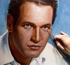 Paul Newman - Portrait Commission