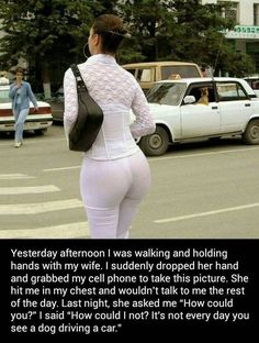 9/28/17 4:11p Jealous  Wife was Angry that Her Husband   took the Pic of the Big White Ass Woman!   He didn't  take her Pic! Take a closer look at the Pic and what he Really Photographed!  Ha! flickr.com