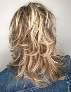 60 Lovely Long Shag Haircuts for Effortless Stylish Looks : Long Feathered Bronde Shag Hairstyle Long Shag Hairstyles, Medium Shag Haircuts, Long Shag Haircut, Long Layered Haircuts, Haircuts For Long Hair, Wedding Hairstyles, Short Haircuts, Braided Hairstyles, Shaggy Hair